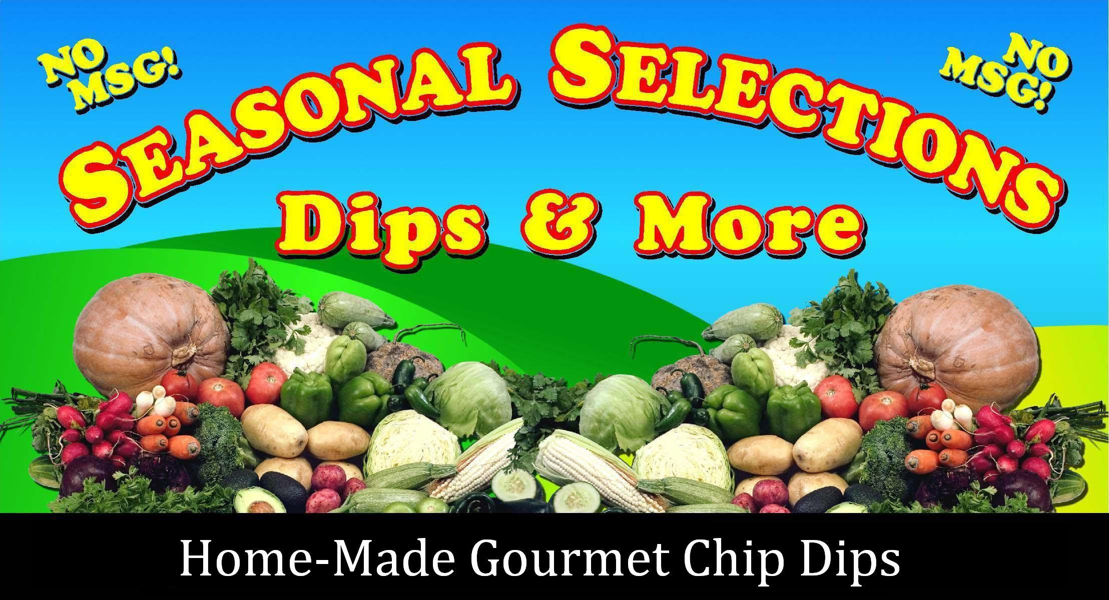 Seasonal Selections Banner.